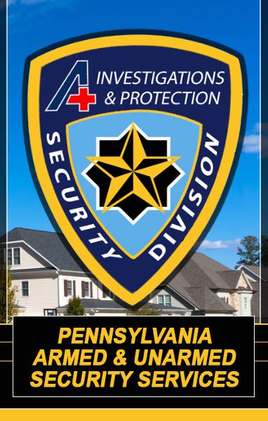 Pennsylvania Security Services Header 1